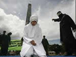 Indonesia: Women Public Canning Sharia Law feature
