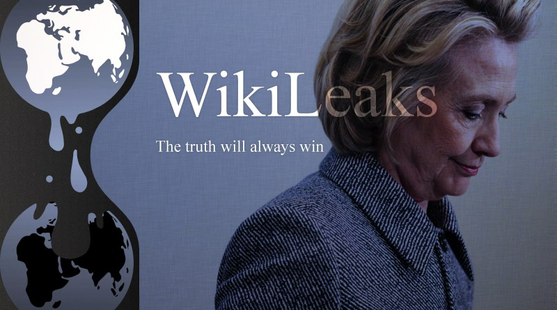 Hillary Clinton HRC and WikiLeaks Truth Wins (Large)
