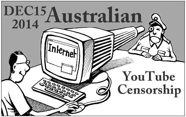 Censorship Australia: YouTube (01)