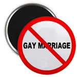 No Gay Marriage Button