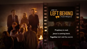 A screenshot from a video in an 'Indiegogo' campaign to fund a sequel to the 2014 film 'Left Behind' which features actors Nicholas Cage, Chad Michael Murray and Cassie Thomson. Read more at http://www.christianpost.com/news/left-behind-2-is-coming-and-this-time-it-will-not-water-down-christian-message-according-to-producer-137168/#2IRwR8EiAPLFpYW6.99