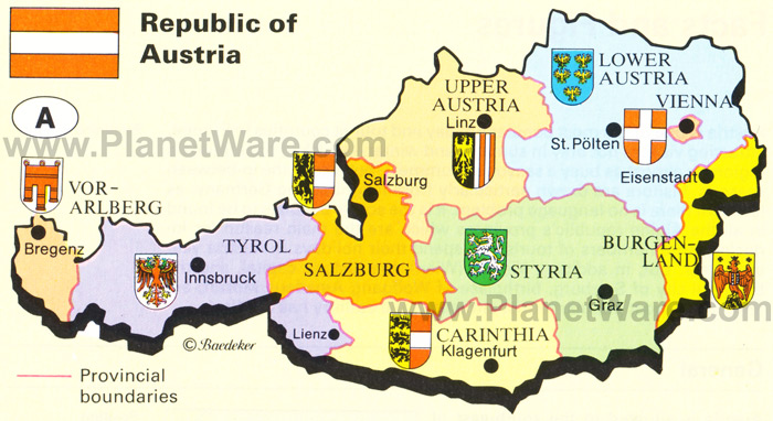 republic-of-austria-map