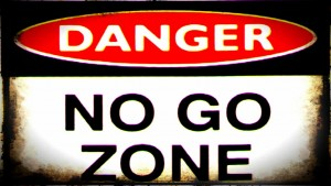 no-go-zone