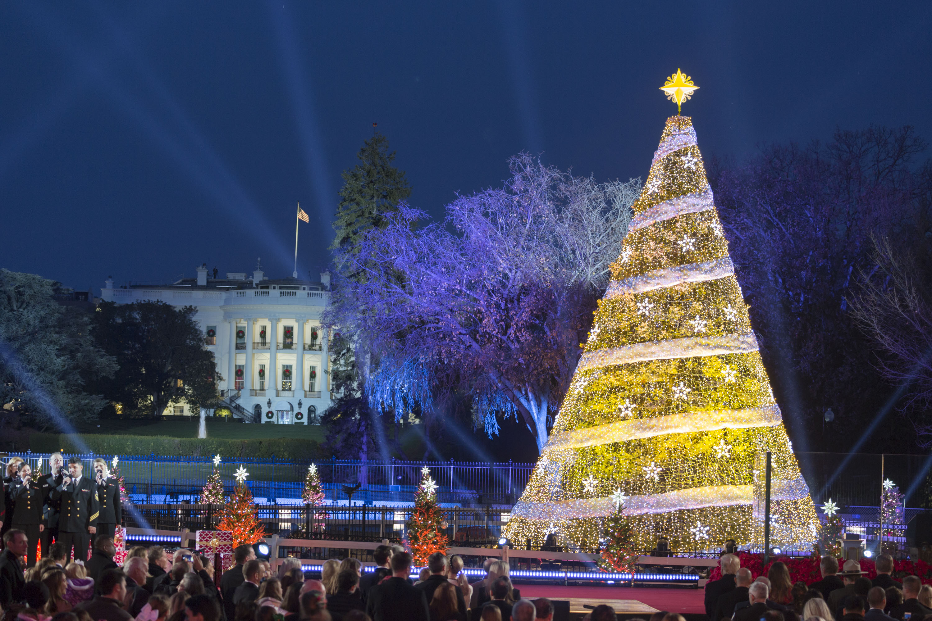 Christmas Celebration In America.Trump Reminds America Christmas Is About The Celebration Of