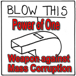 Whistle Blowers Drain the Swamp feature
